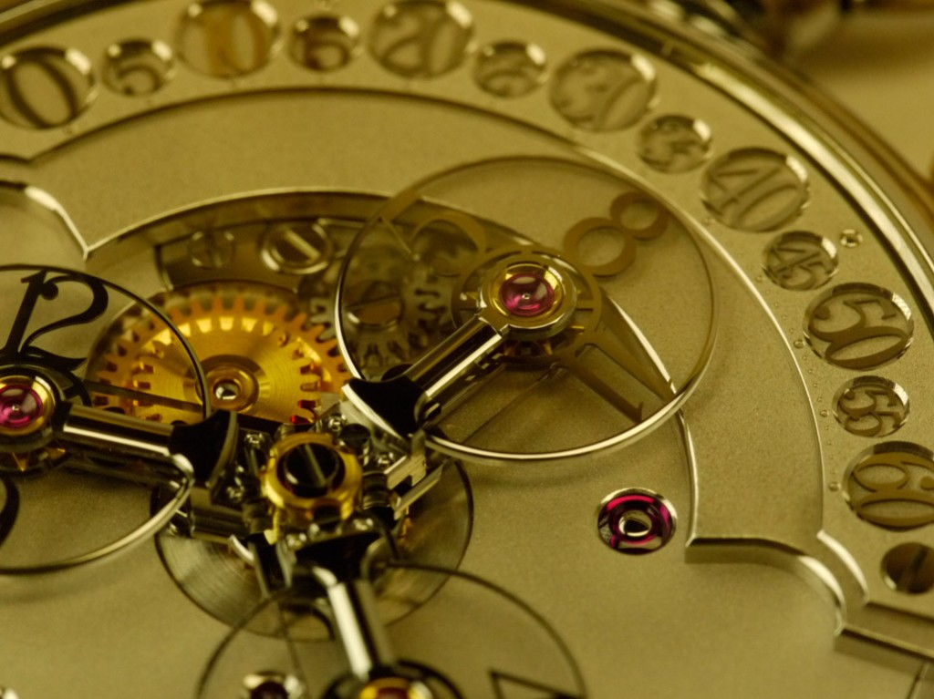 finition Haute Horlogerie