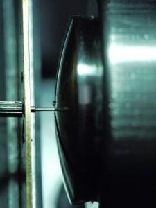 Chassage du pivot de seconde