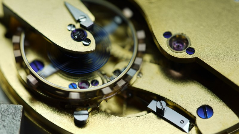 Chronomètre à détente E. Dent