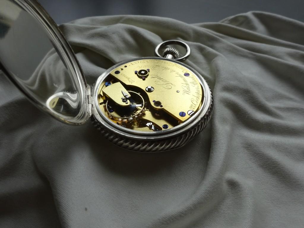 La montre terminée