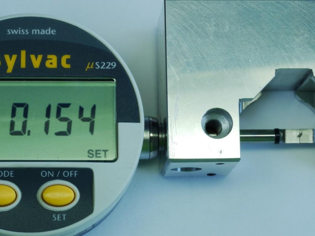 sylvac, banc de mesure, micromètre horloger, mesure horlogère