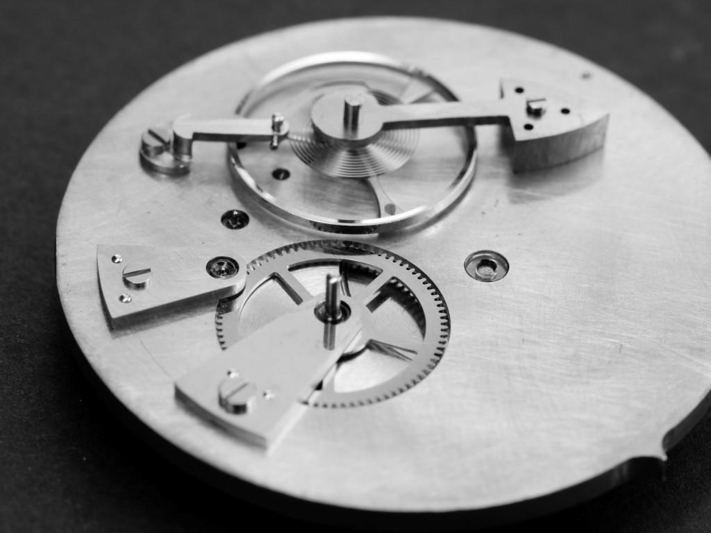 prototype horloger fait main