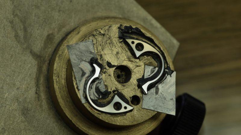 Fabrication d'une montre à secondes indépendantes