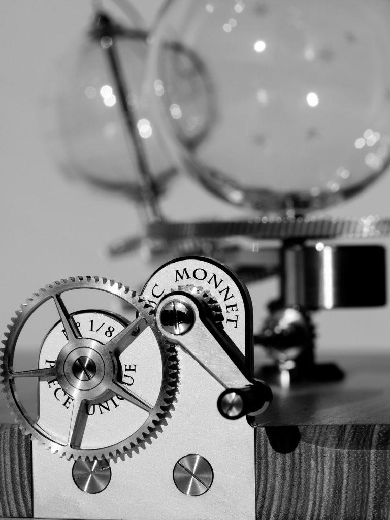 Luc monnet watchmaker orrery maker clockmacker horloger planétarium