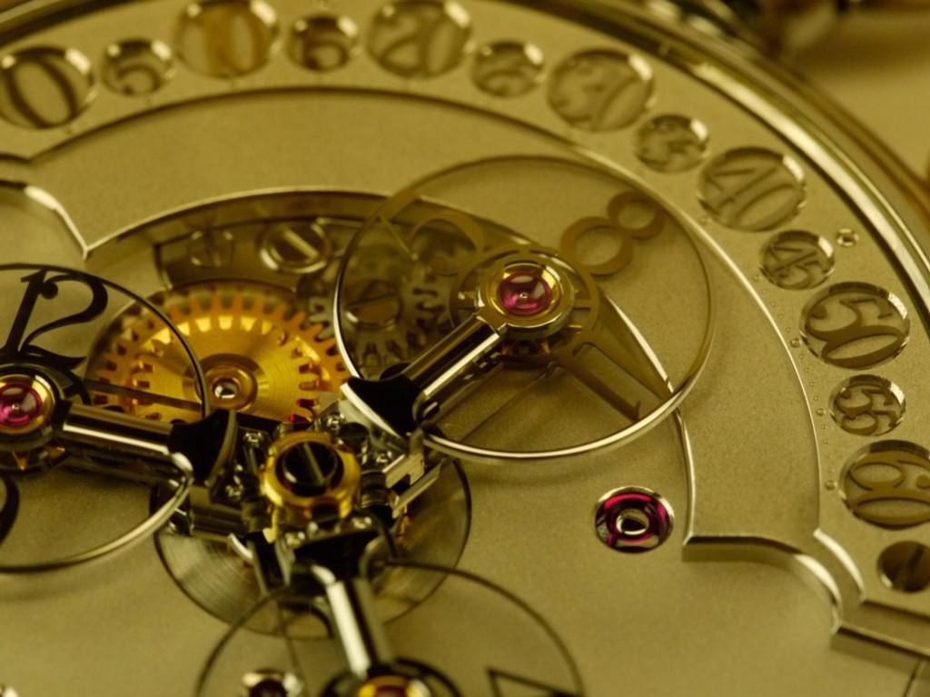 finition Haute Horlogerie