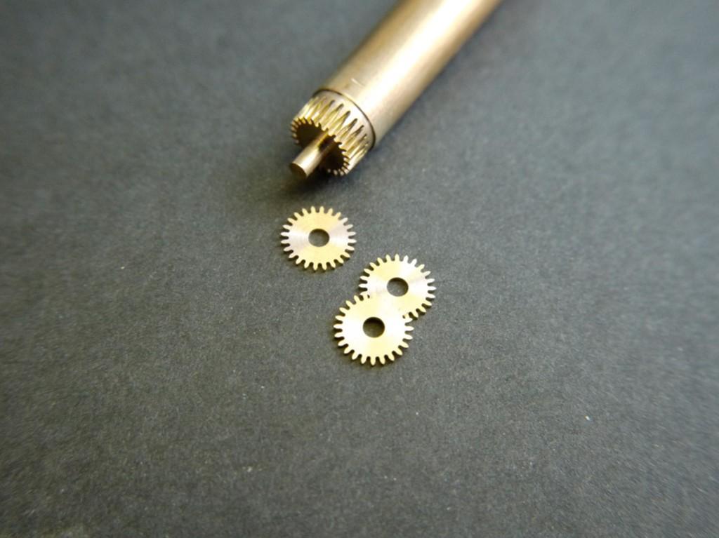 Taillage des roues petits modules