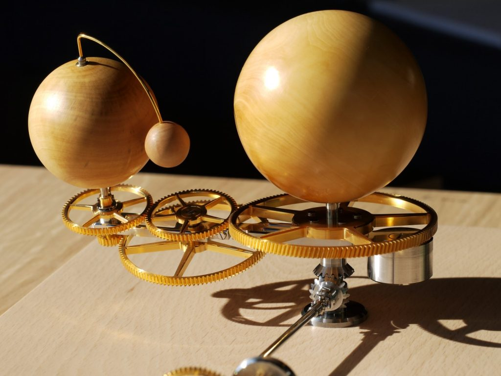 mechanical orrery unique piece